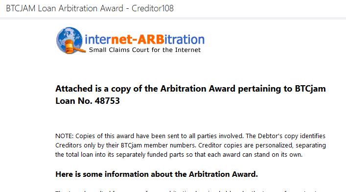 arbitration-award
